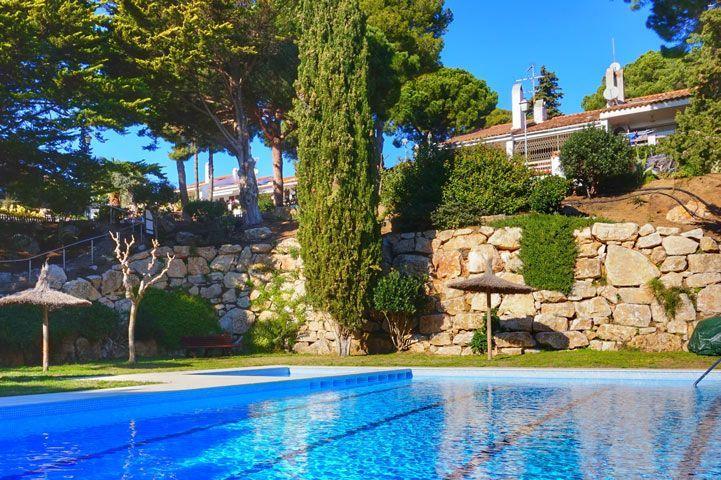 casa llevantina house with pool in lloret de mar